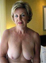 Alte dame nackt